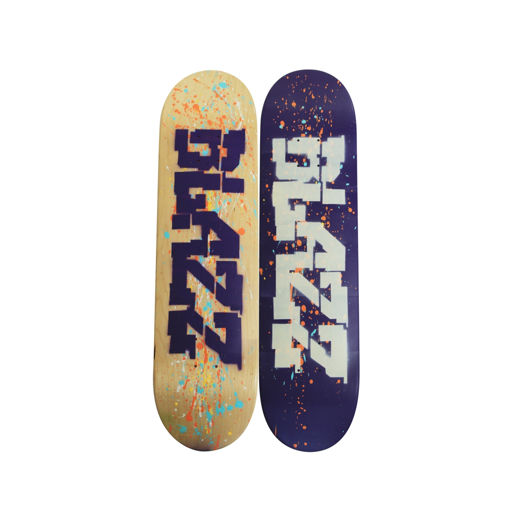 ZZSB ARTSESSION05 DECK01 (7.75) [PURPLE/NATURAL]