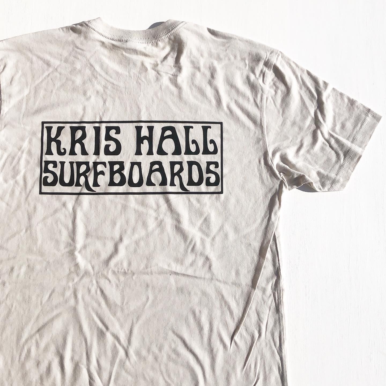 """Kris Hall Surfboards """"OG Logo"""" S/S Tee"""