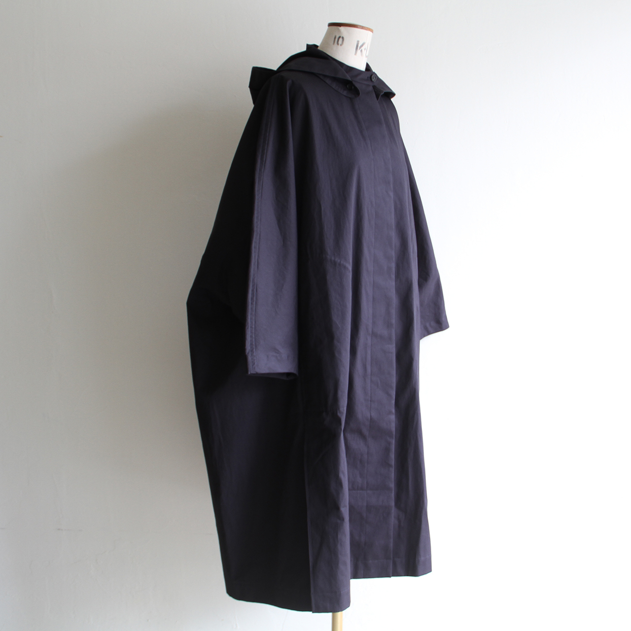 TENNE HANDCRAFTED MODERN【 womens 】long cape coat with hood