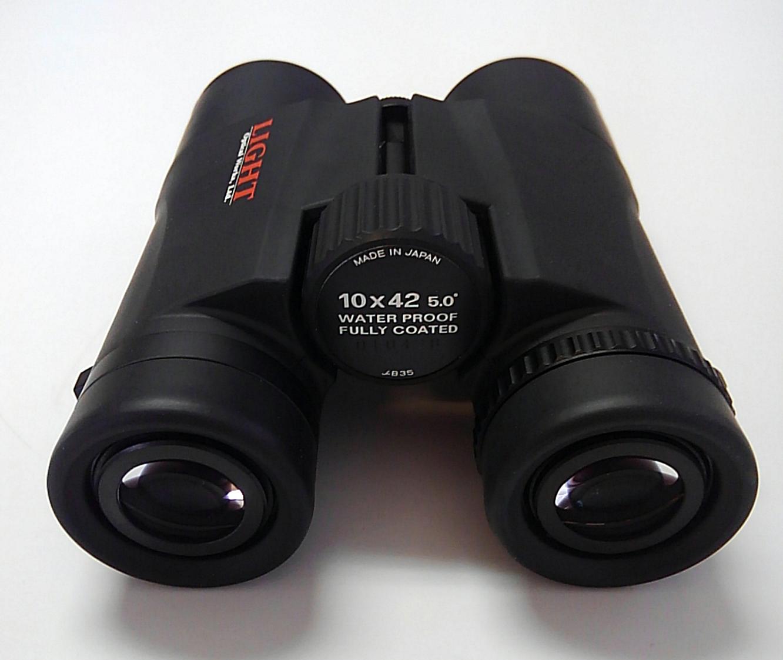 双眼鏡:10×42 5.0°〔ライト光機〕
