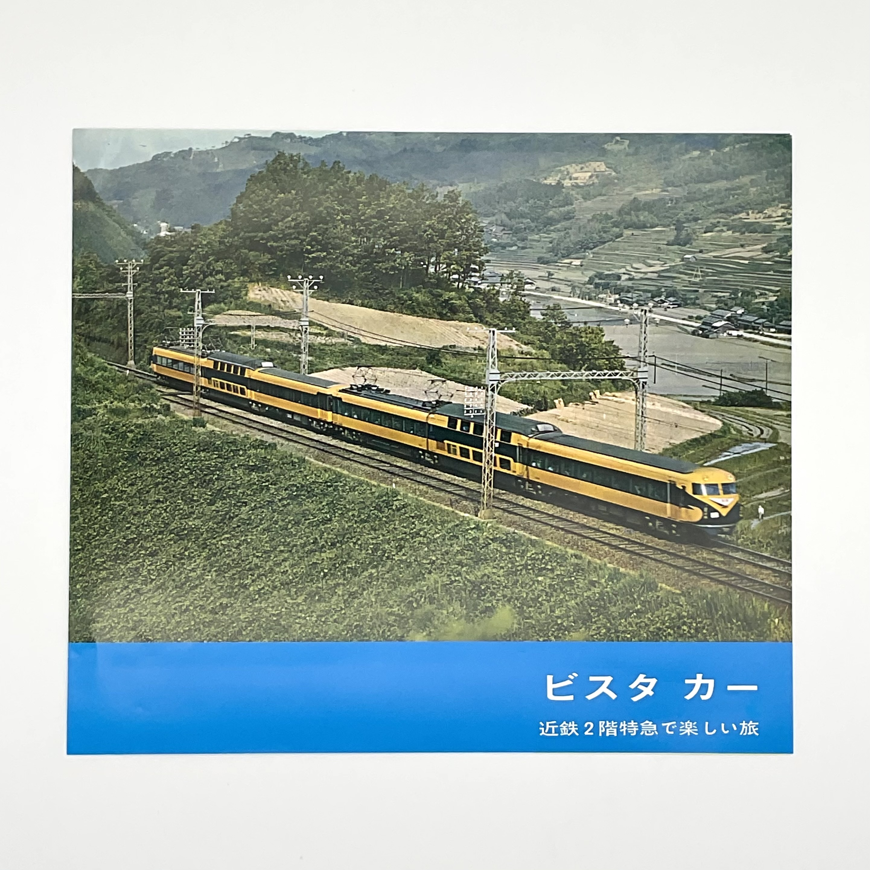 パンフレット 新ビスタ・カー