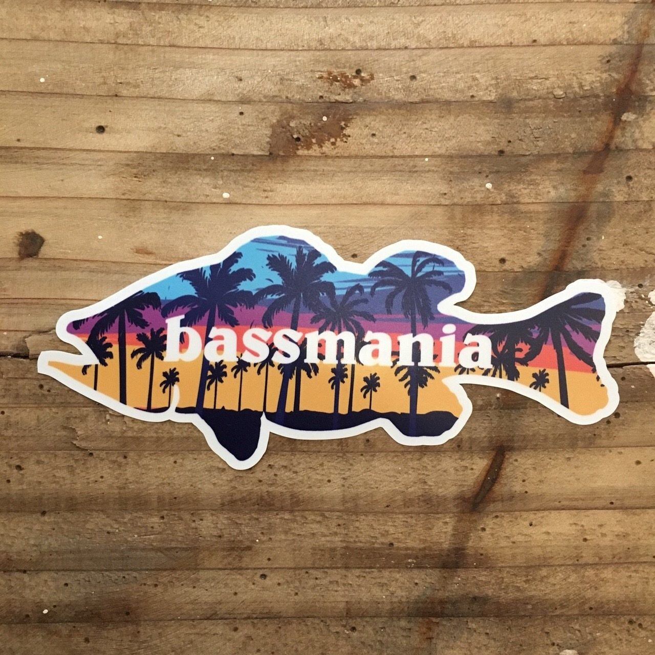 aloha bass sticker