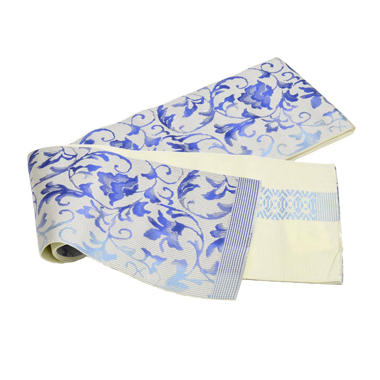 正絹博多織小袋帯