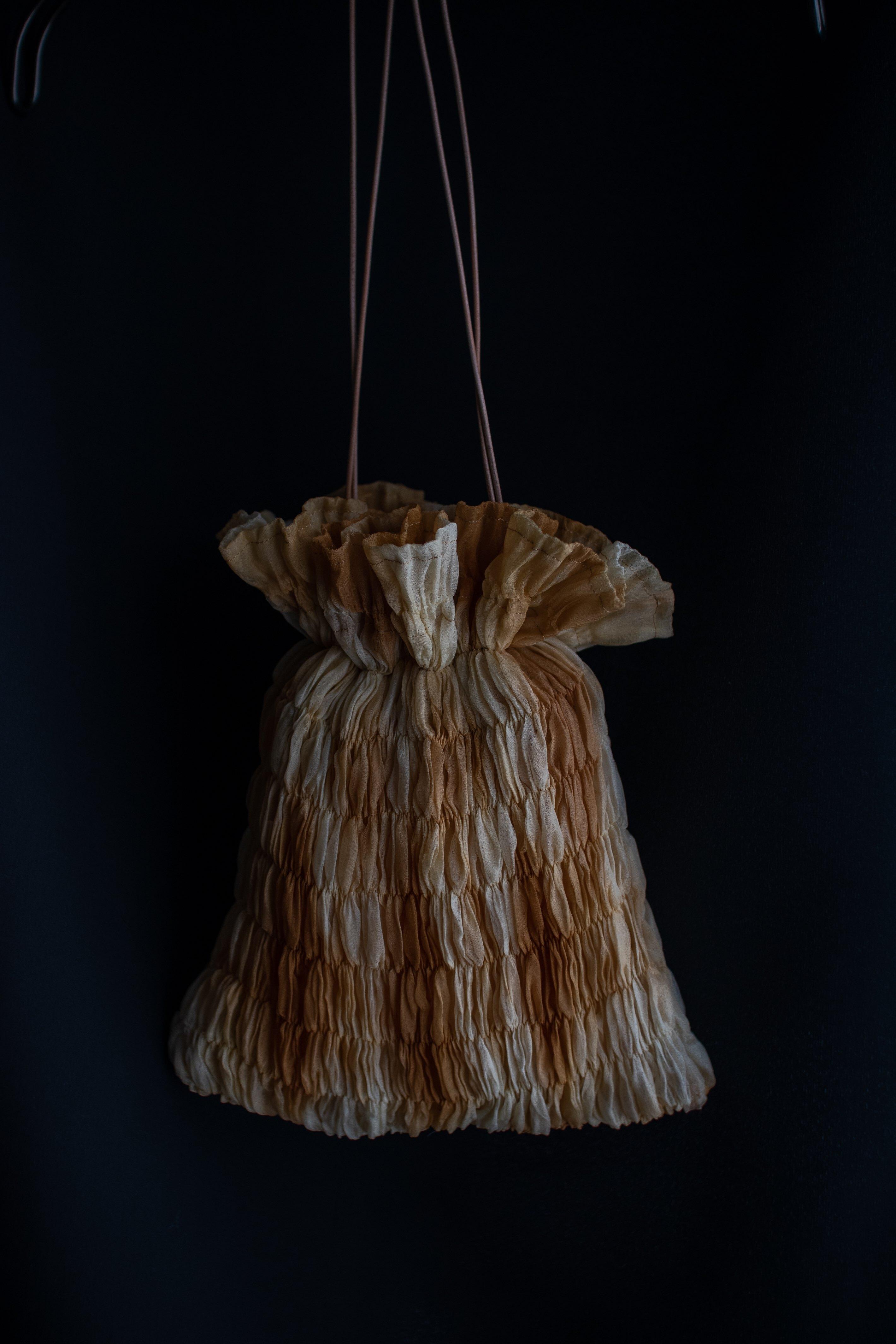 MIONASHIMIZU shibori bag