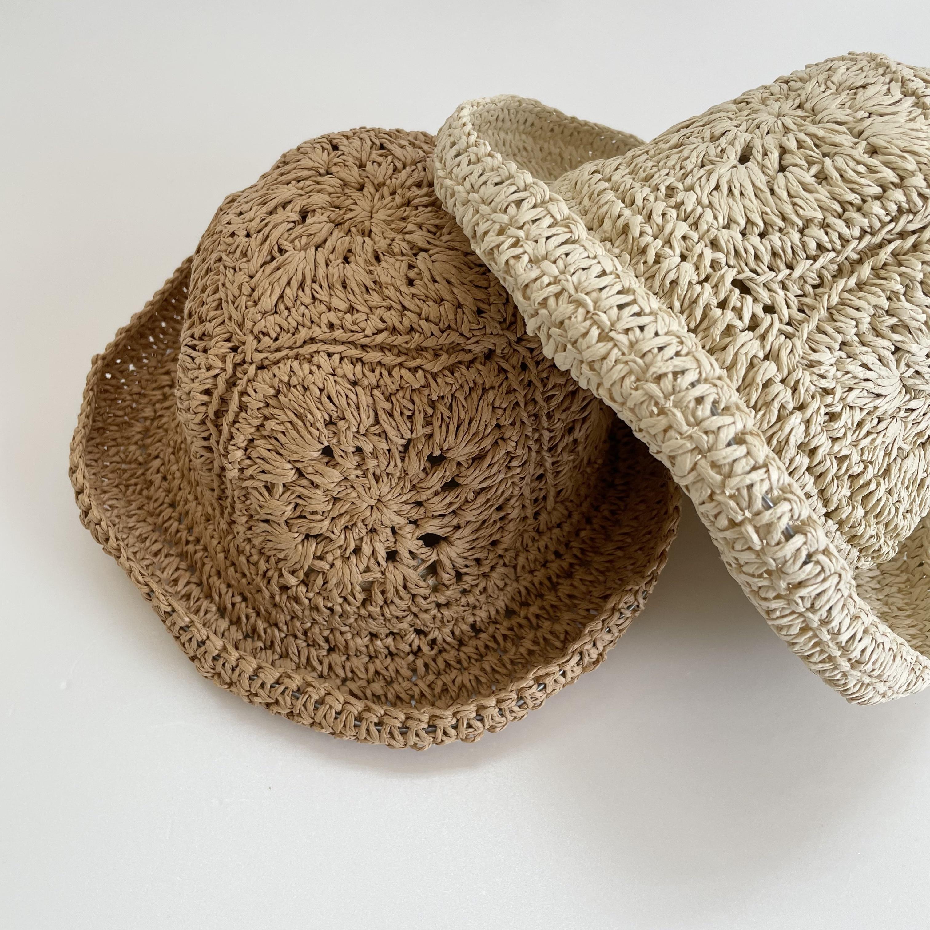NO.1349  floral paper hat