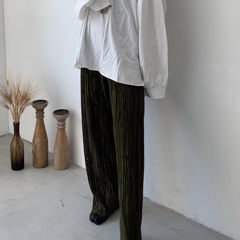 Glossy pants