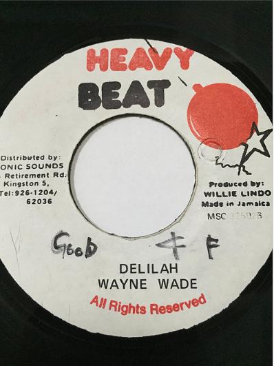 Wayne Wade(ウェインウェイド) - Delilah【7'】