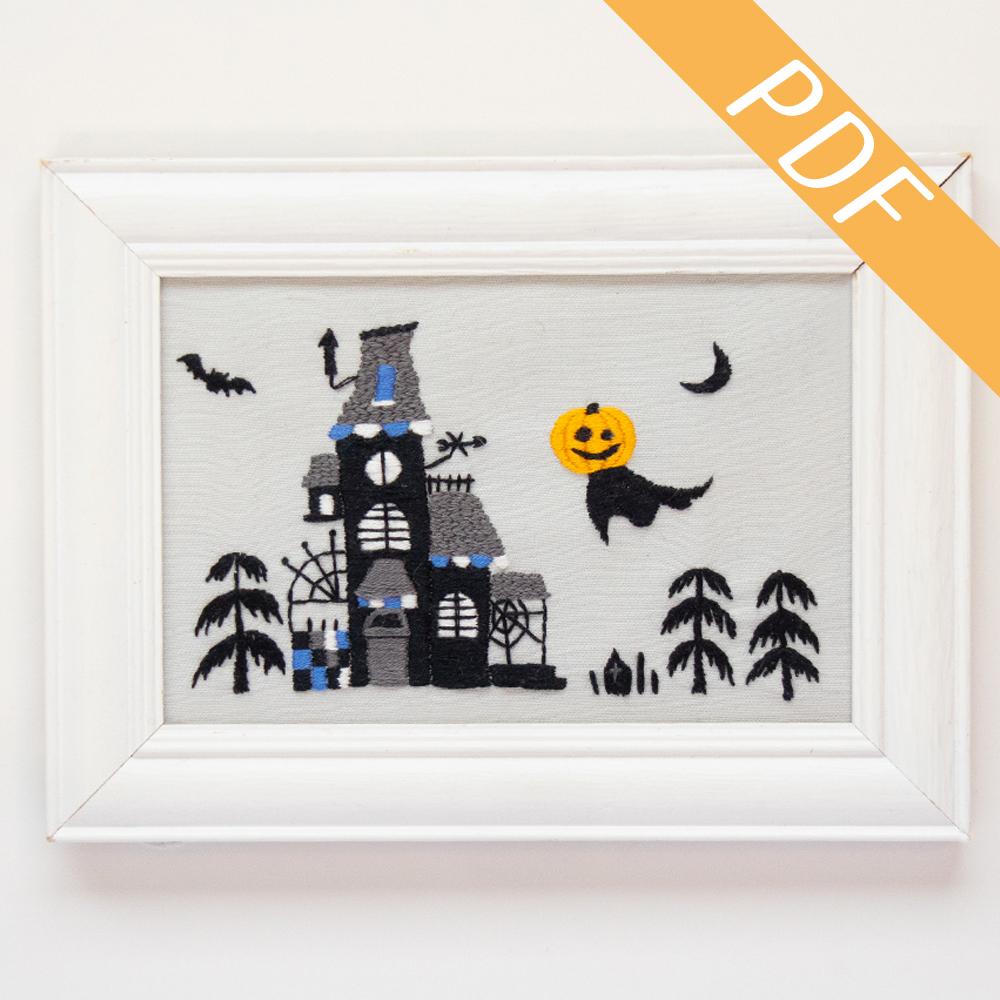 【図案ダウンロード】ハロウィン かぼちゃのジャック