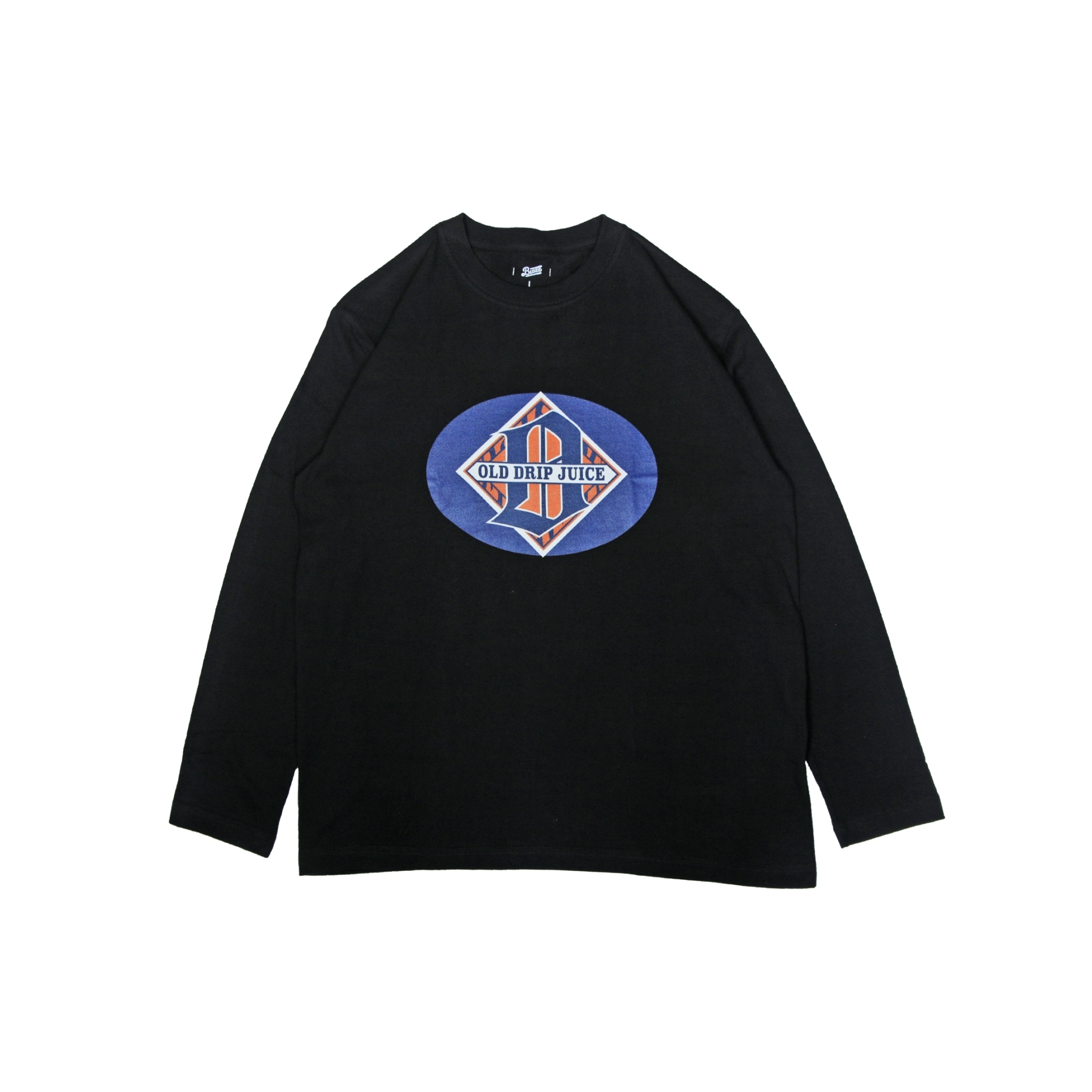 OLD DRIP JUICE 2020 L/S TEE [BLACK]