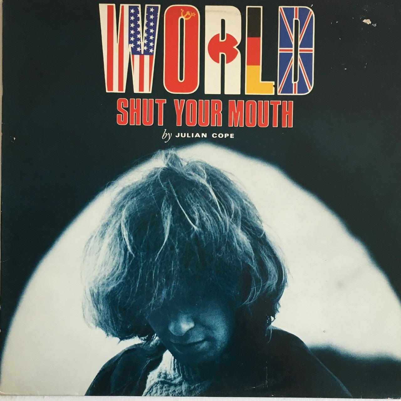 【LP・英盤】Julian Cope  /  World Shut Your Mouth