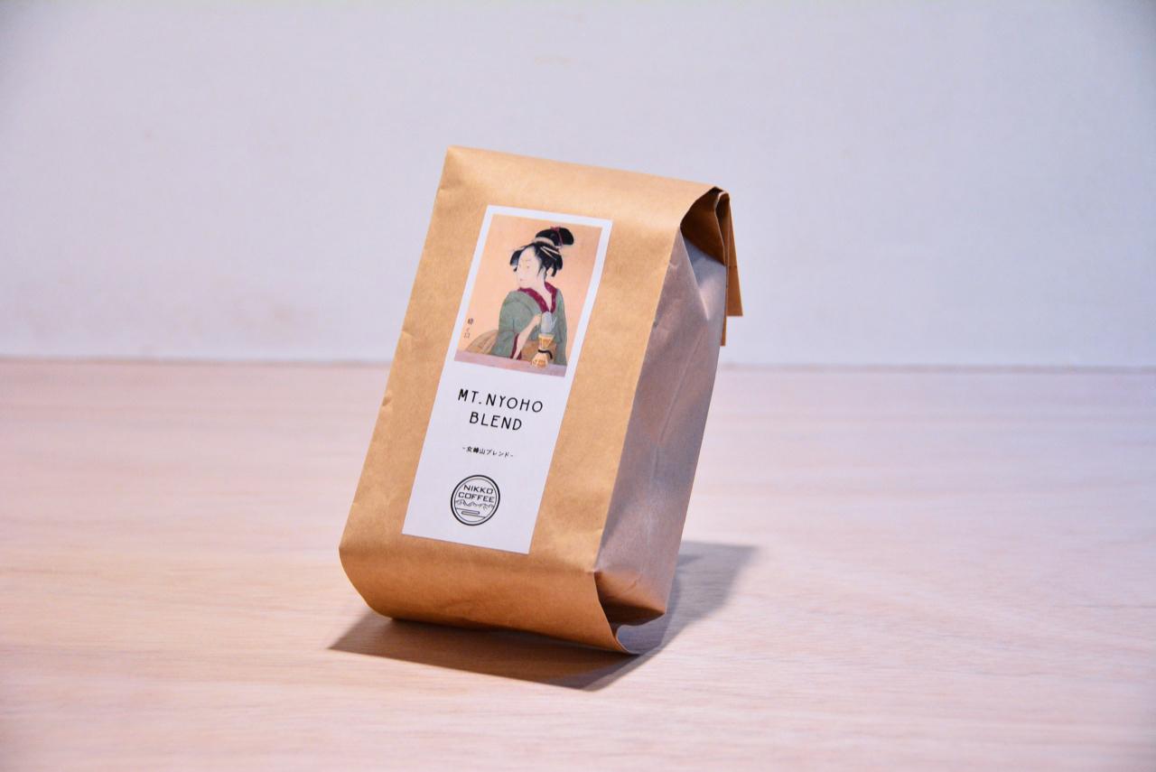 女峰山ブレンド 200g コーヒー豆【シティロースト】