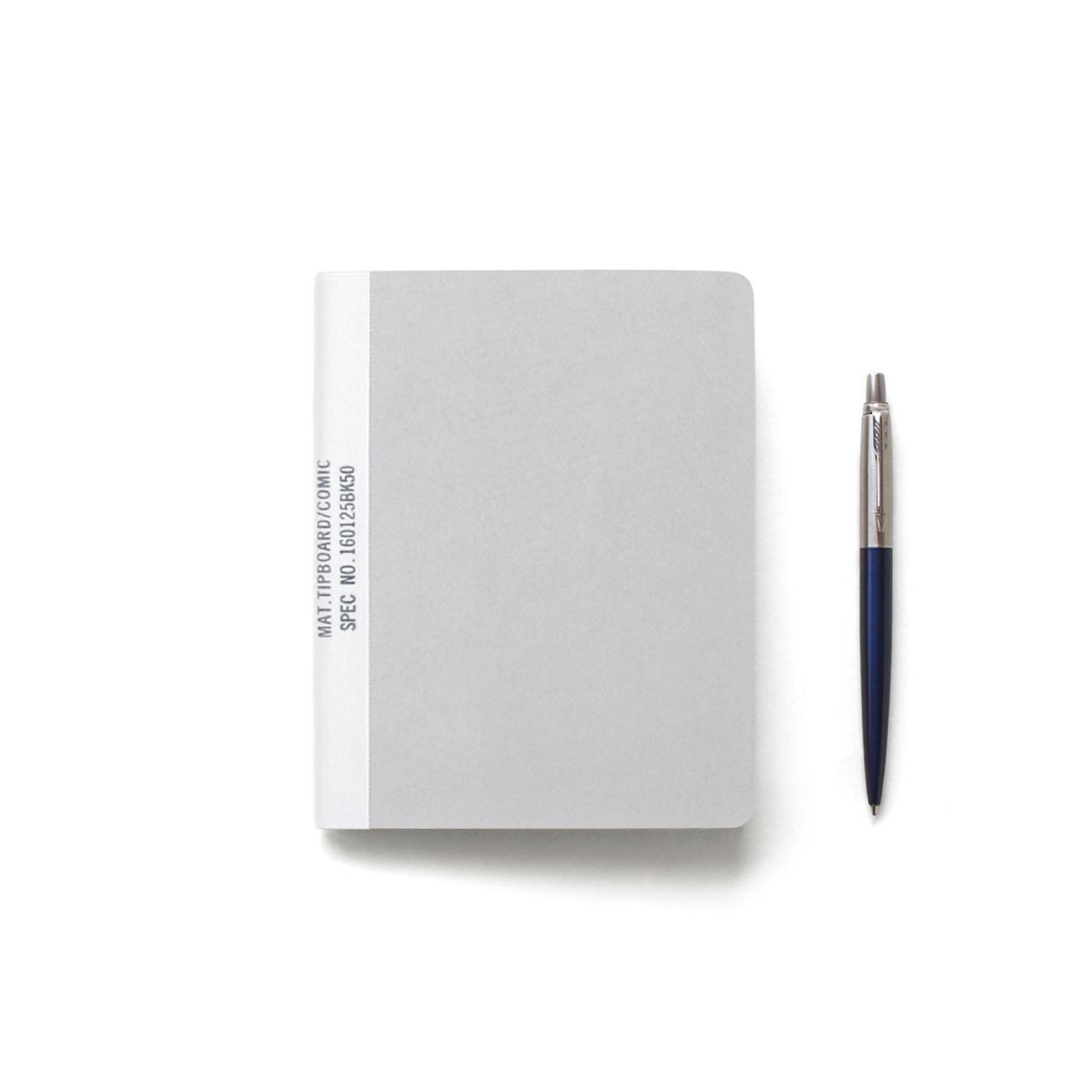 MUCU Blank Note グレー Sサイズ