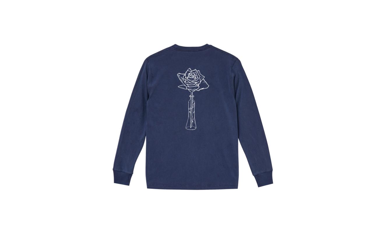 coguchi rose long tshirts (nyv/wh)
