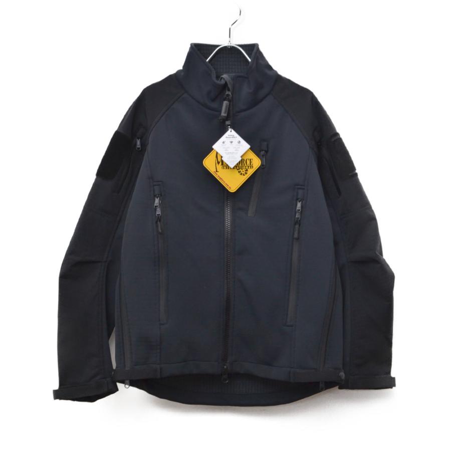 【新品】MAGFORCE / マグフォース   Street Walker Softshell JKT ストリートウォーカー ソフトシェルジャケット   XS   ブラック
