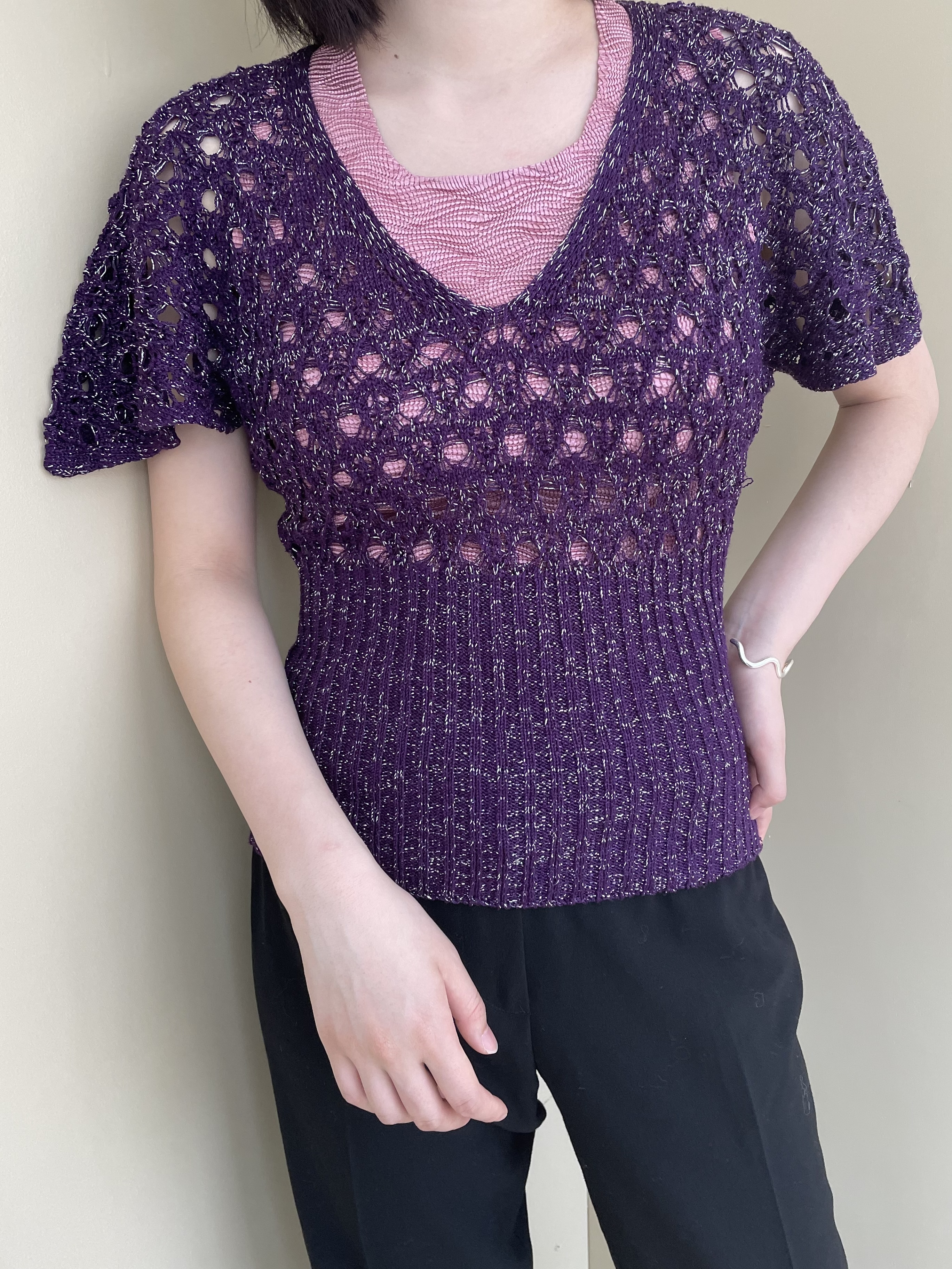 rame crochet tops / 7SSTP21-09