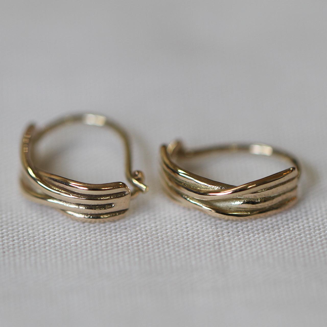 JUN MIKAMI【 womens 】tide pierced earrings