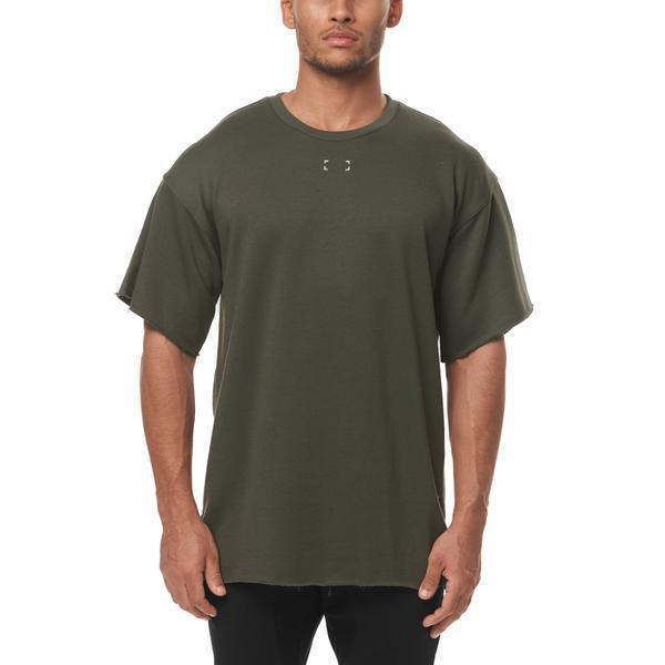 【ASRV】フレンチテリー オーバーサイズTシャツ - Olive