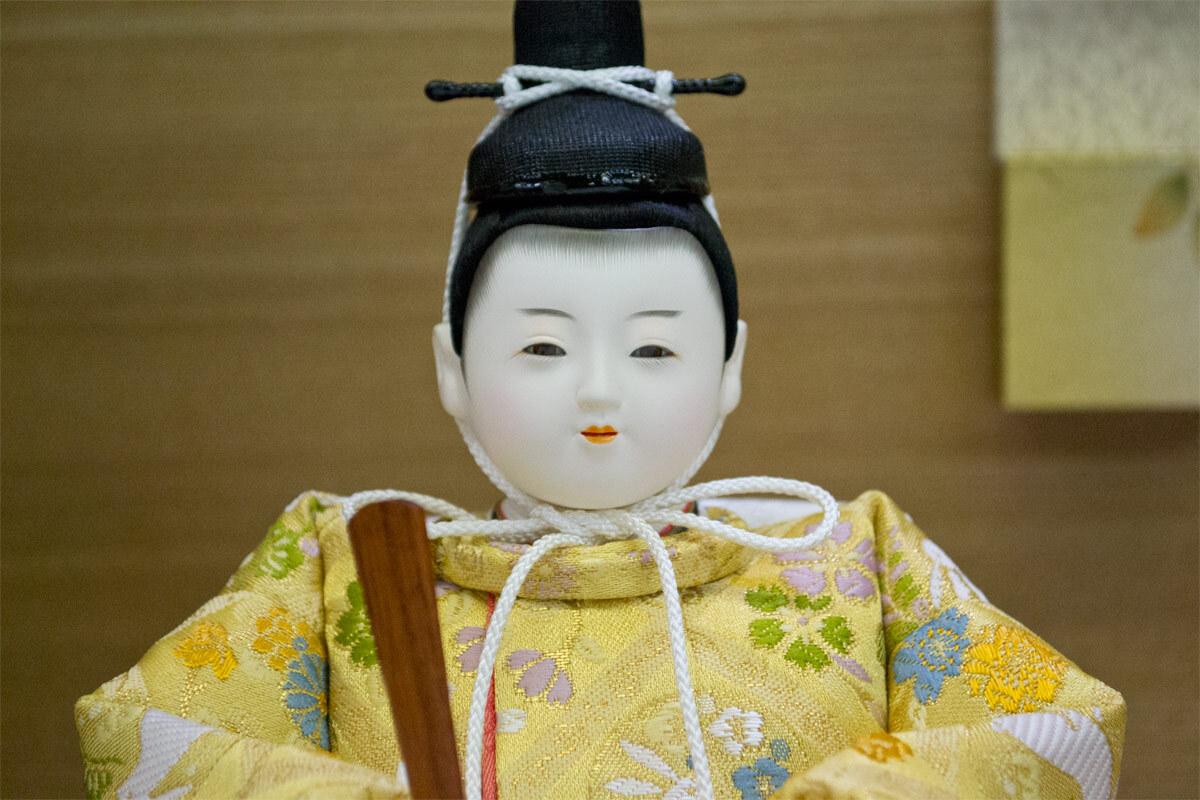 「松 寿」作 親王飾り