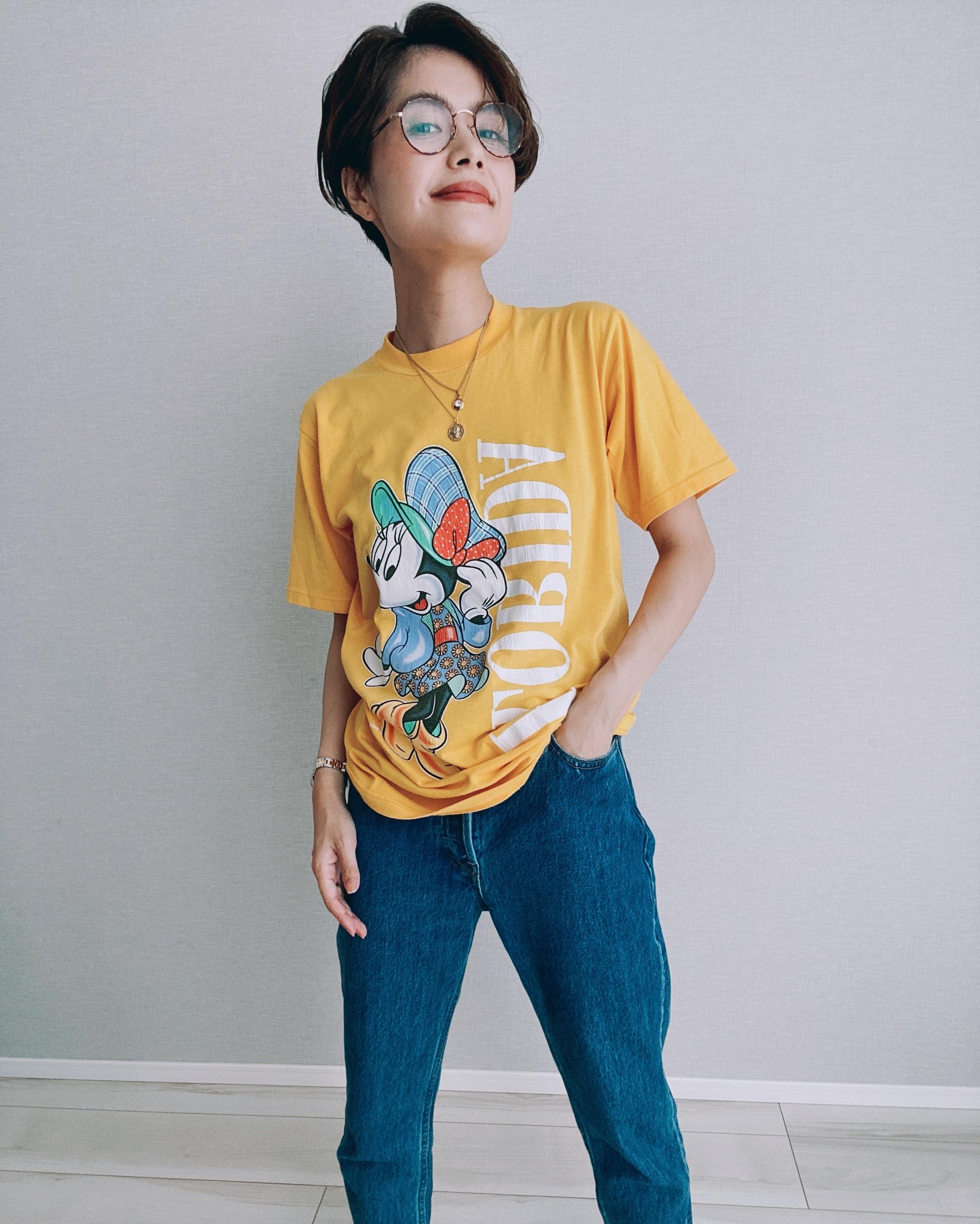 (CS436)Minnie T-shirt made in USA
