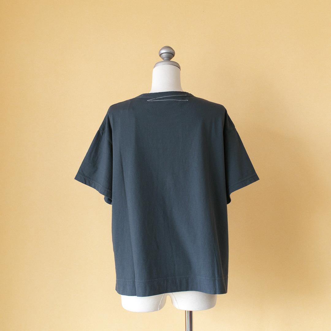 Fabrique en planete terre ファブリケアンプラネテール 天竺オーバーサイズTシャツ