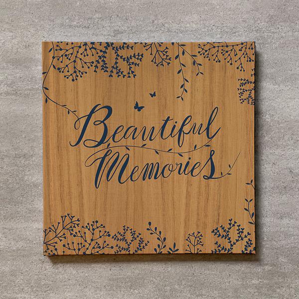 Tree's Board(Light brown)-FAMILY_250SQ_20ページ/30カット_アートアルバム