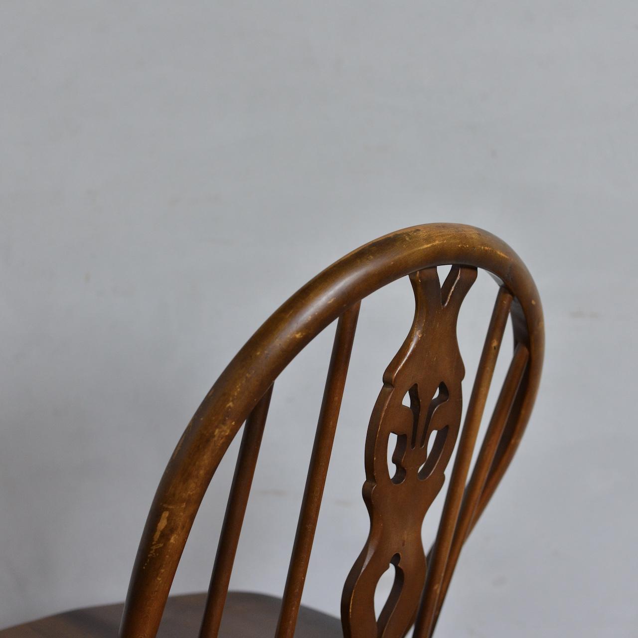 Ercol Thistleback Chair 【C】 / アーコール シスルバック チェア 〈ダイニングチェア・デスクチェア・椅子・コロニアル〉
