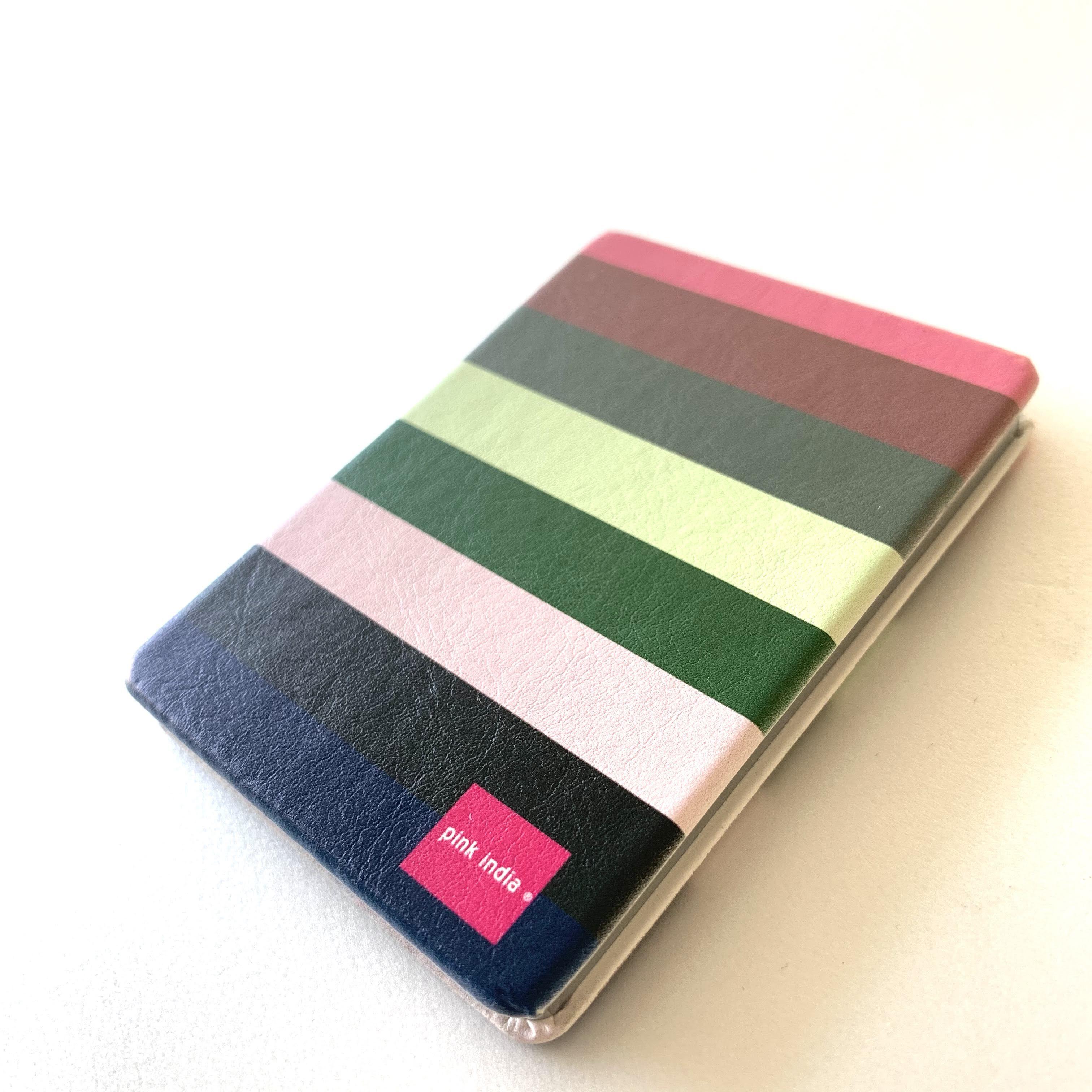 北欧デザイン コンパクト2面ミラー   svea stripe