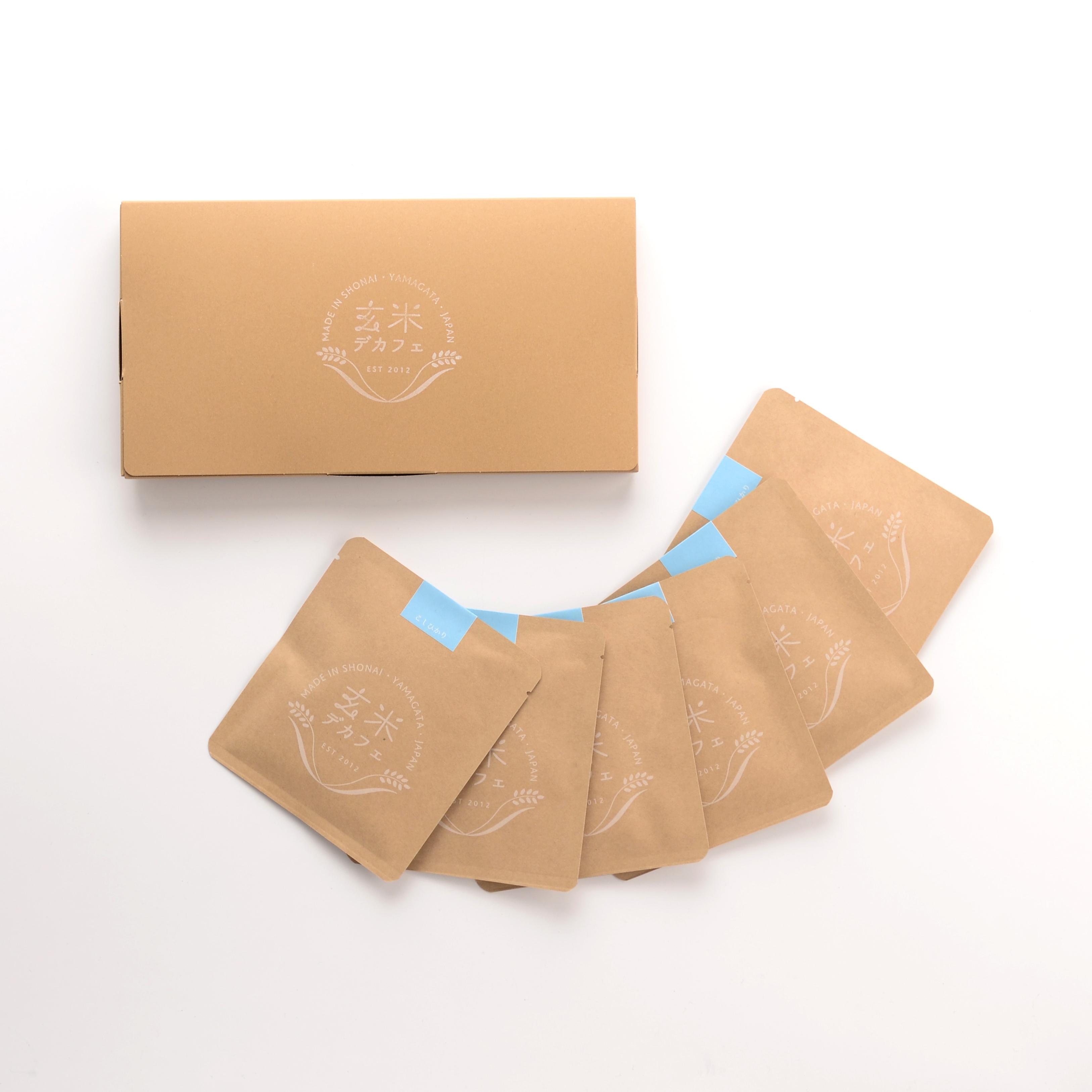 玄米デカフェ・こしひかり1ドリップ✕6袋