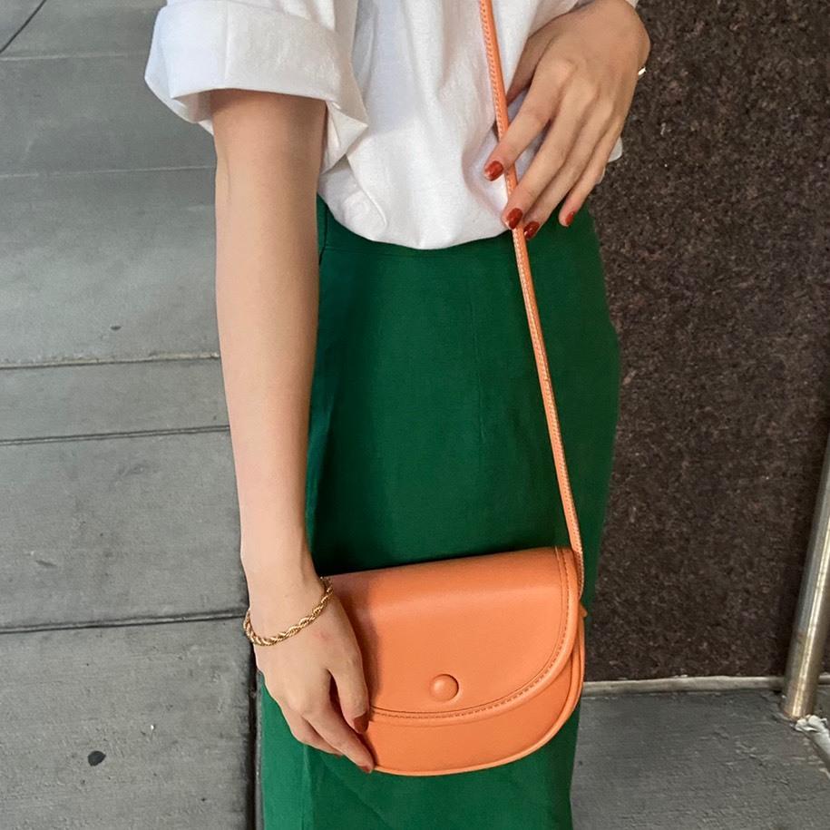 【NEW】DAYNYC mini cross bag(orange)