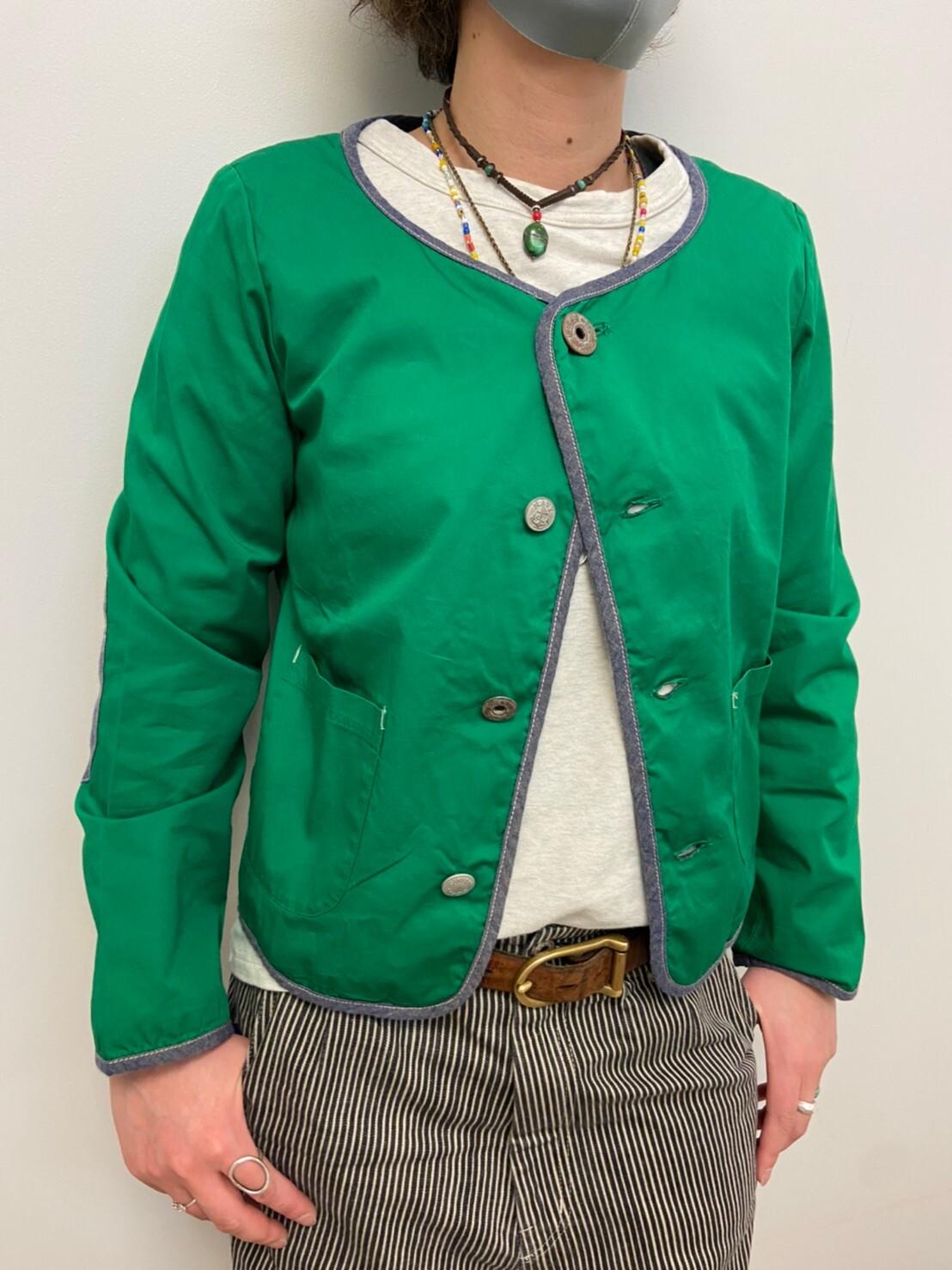 【ONEWASH】コーマバーバリーショートジャケット
