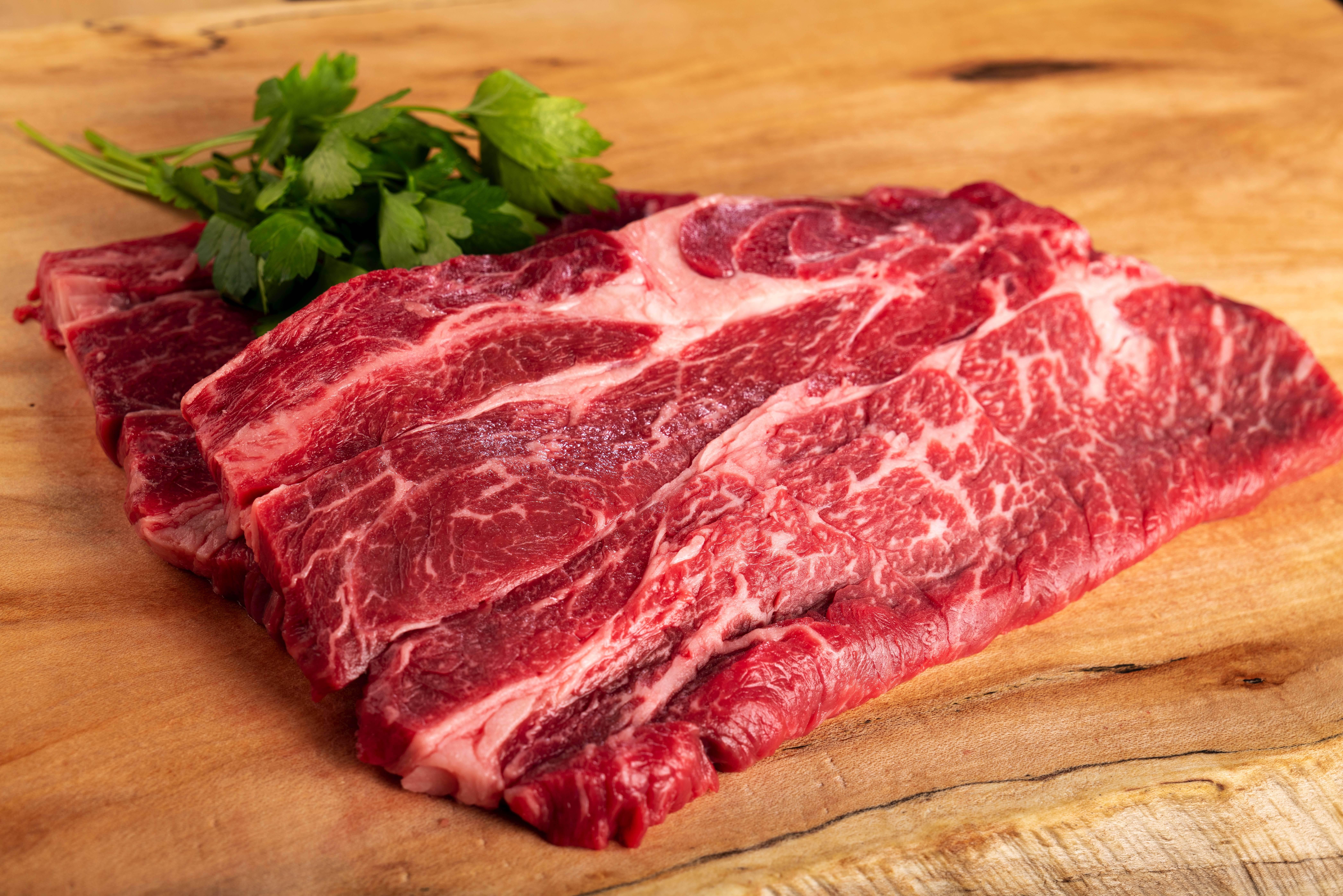 肩ロースステーキ中サイズ200g【1~2人前】 山形村短角牛【ステーキ単品】