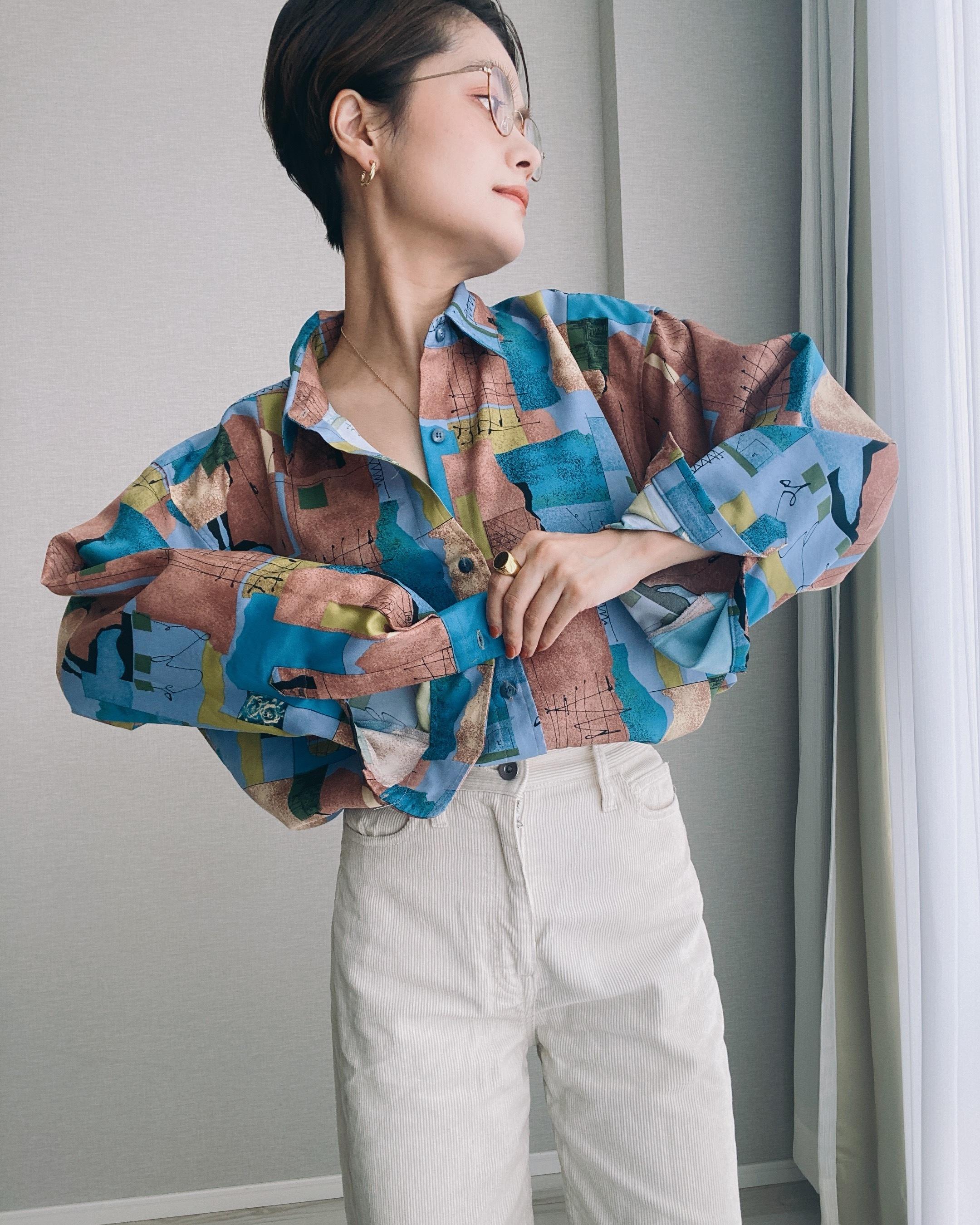 (SH270)Design  shirt