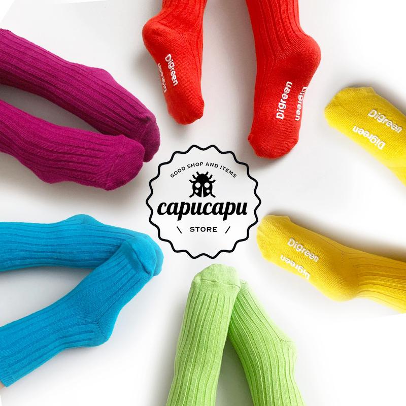 «予約»«5足セット» Vivid Rainbow Socks  ビビッドレインボーソックス