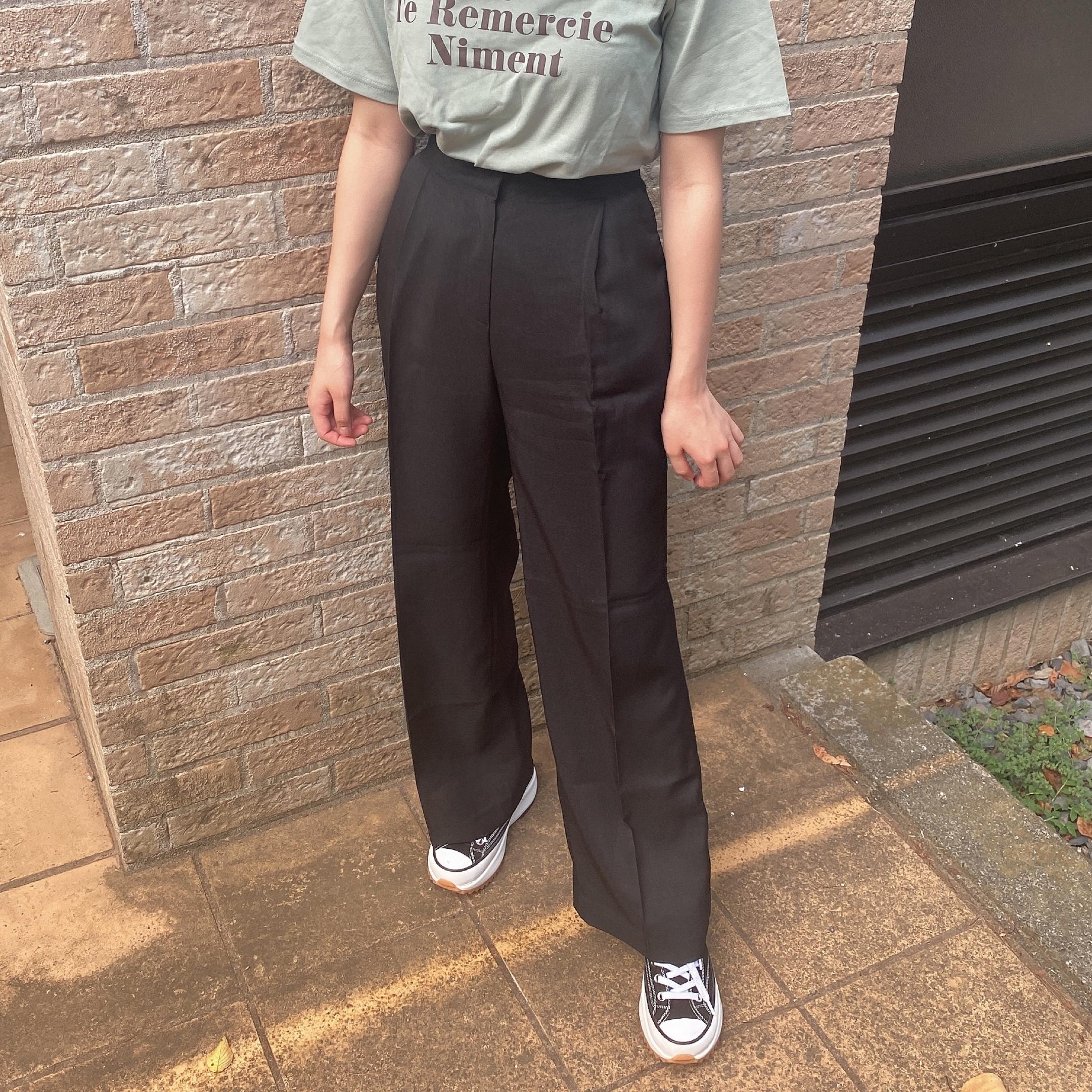 yurina straight pants