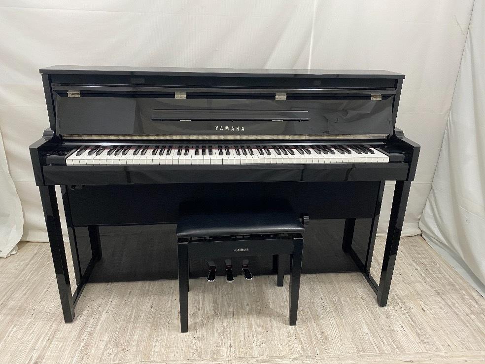 18558[中古電子ピアノ] ヤマハ ハイブリッドピアノ  NU1 2017年製