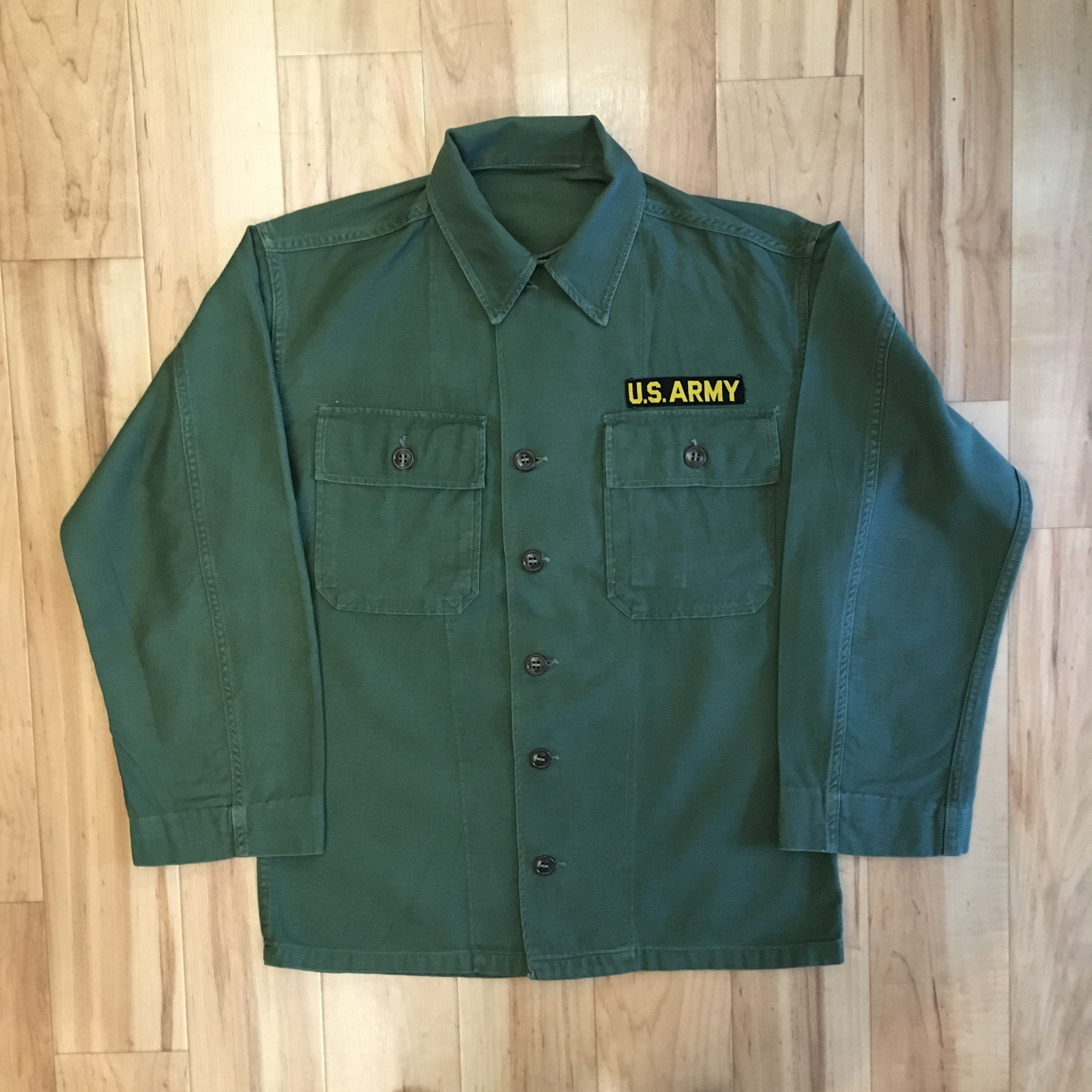 US ARMY COTTON UTILITY LONG SLEEVE SHIRTS