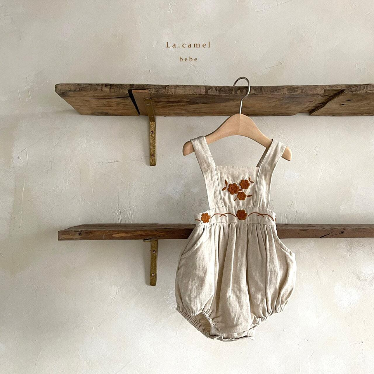«sold out»«baby» La camel ivy suit アイビーロンパース