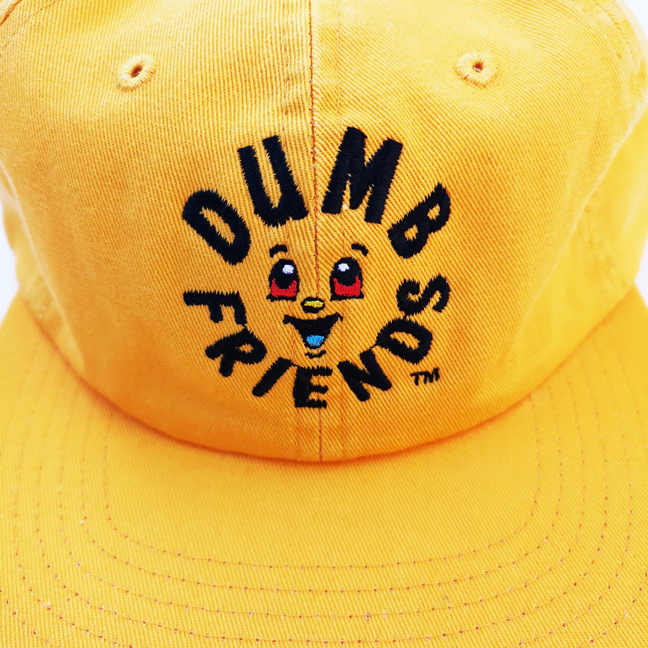       Dumb Friends CAP YELLOW, RED, GRAY, BEIGE