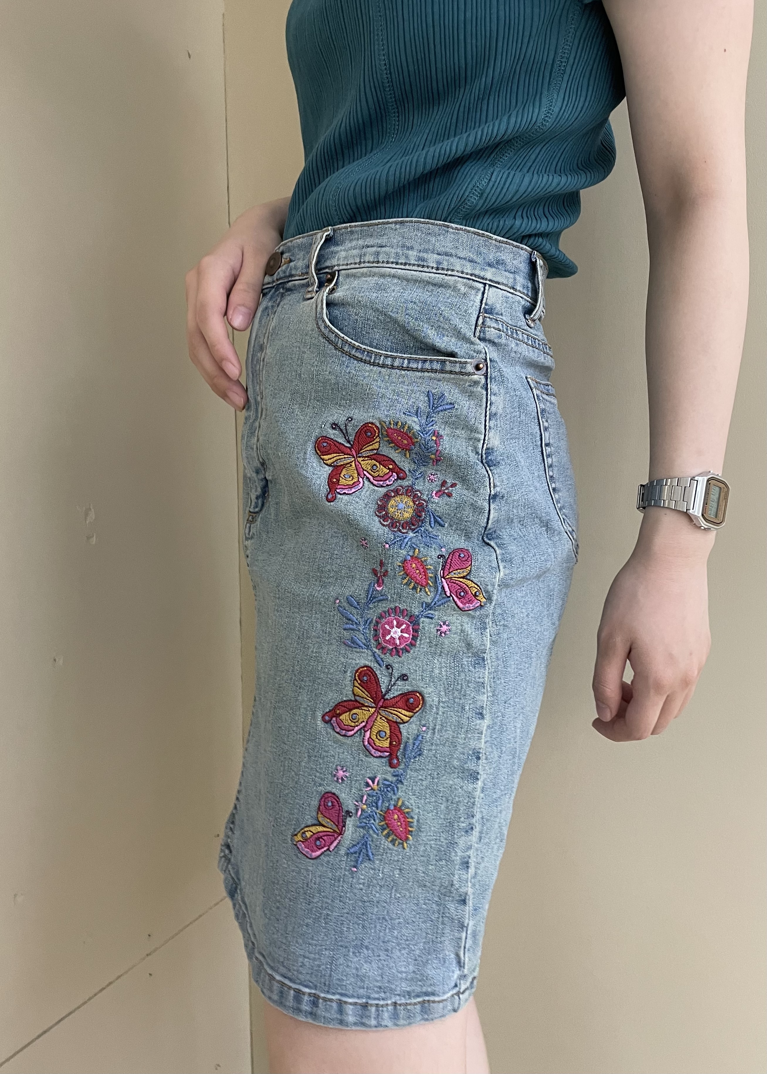 butterfly skirt / 6SSSK19-02