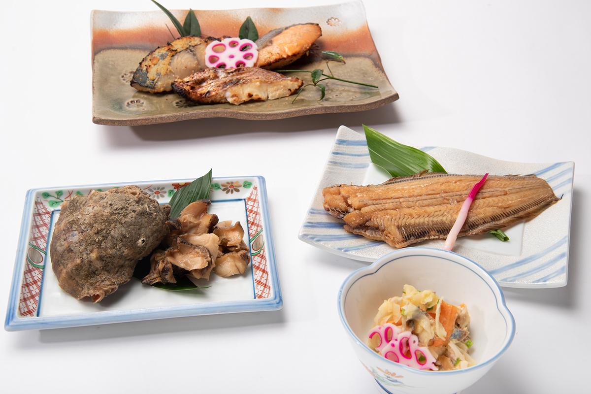 【送料無料】瀬戸内海の旬の魚 お惣菜ボックス