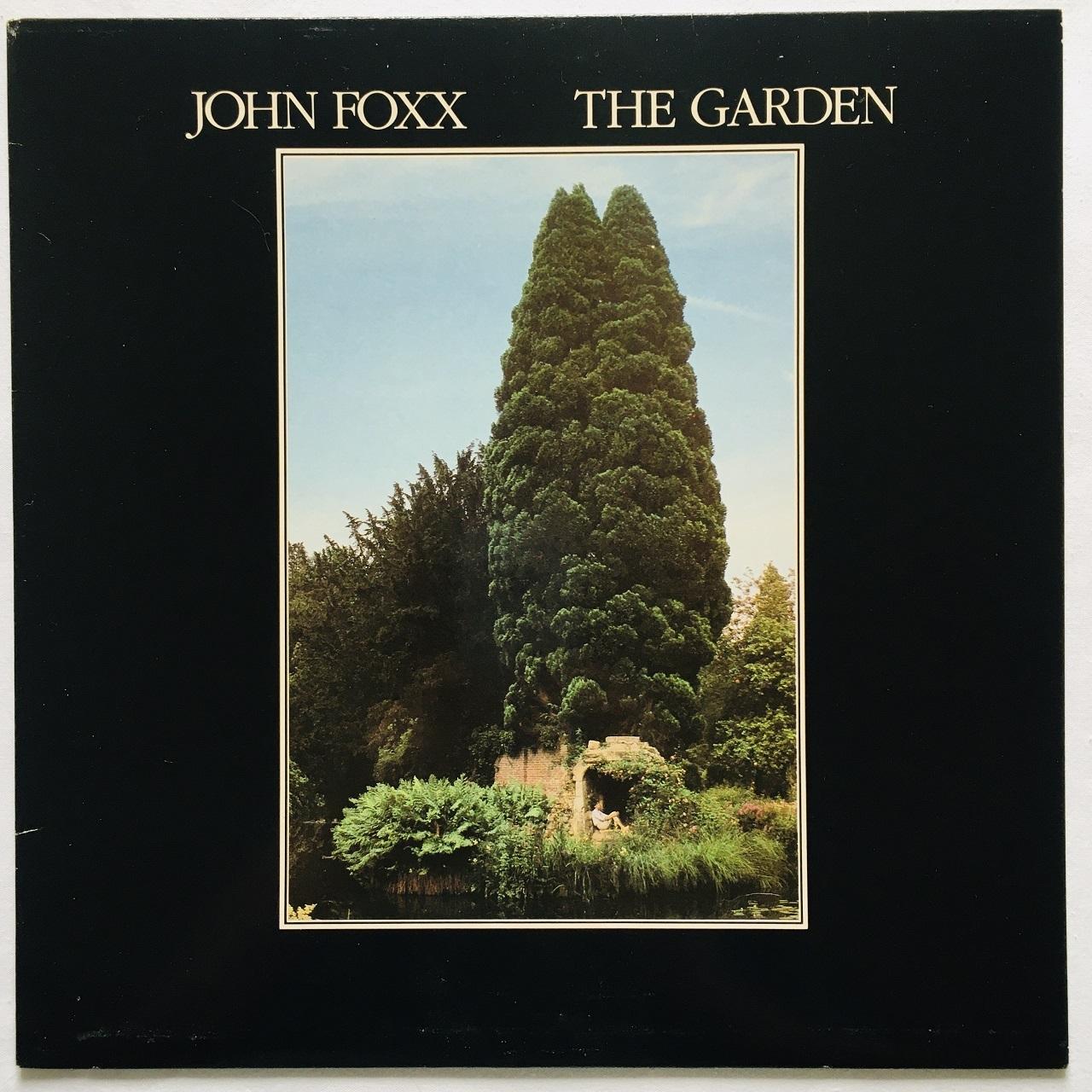 【LP・英盤】John Foxx   /  The Garden