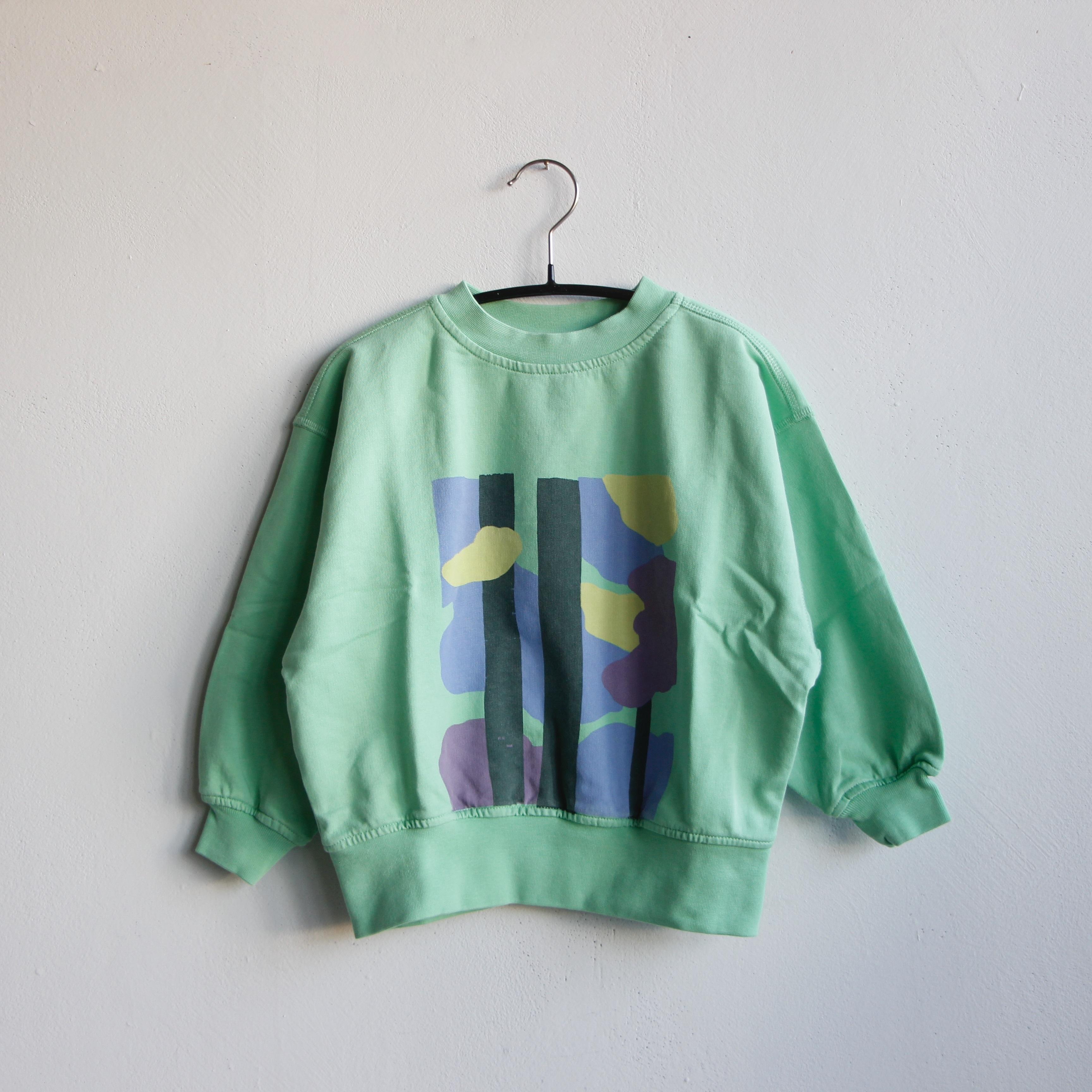 《main story 2021SS》Oversized Sweatshirt / Jade Trees