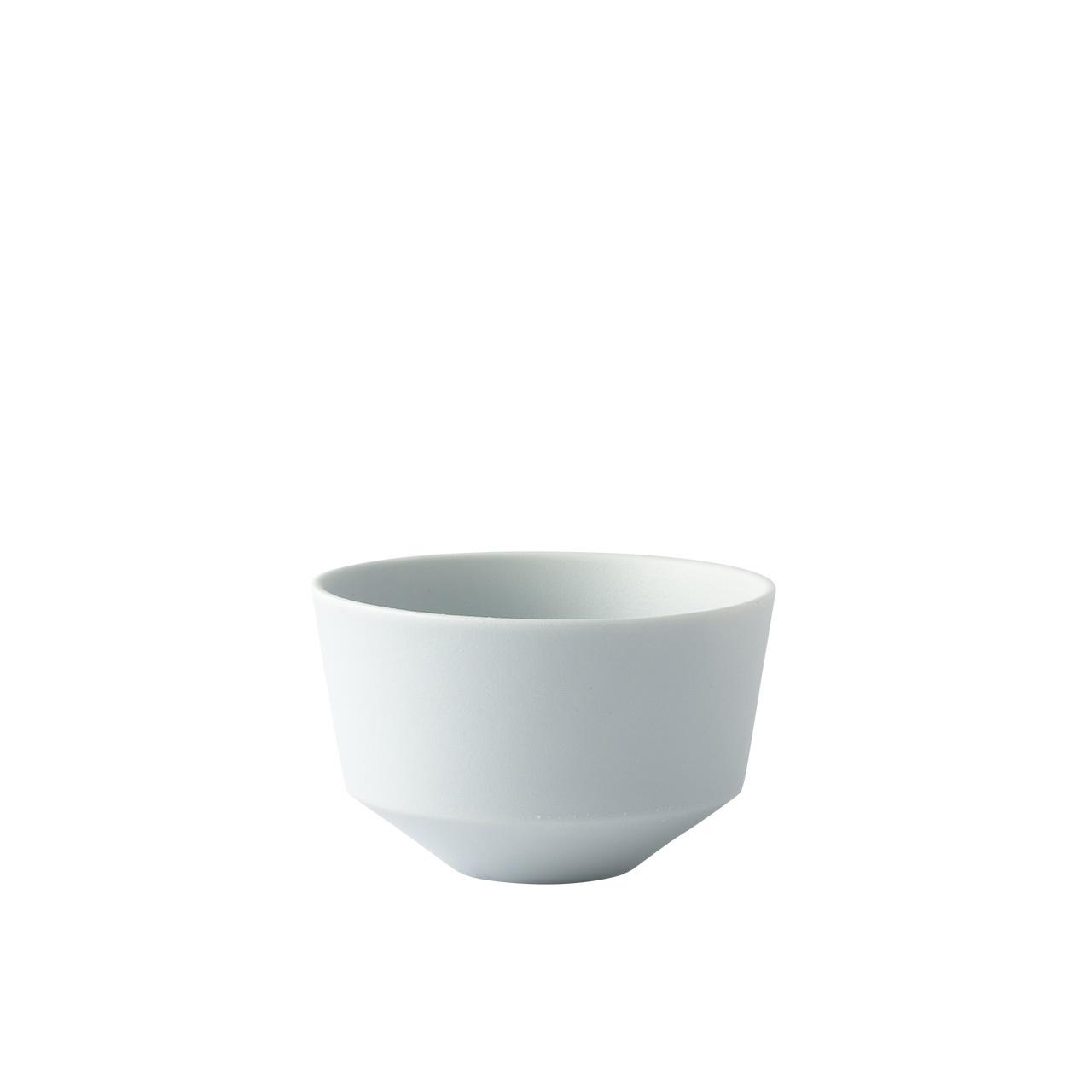 Frustum 茶碗(白藍釉)