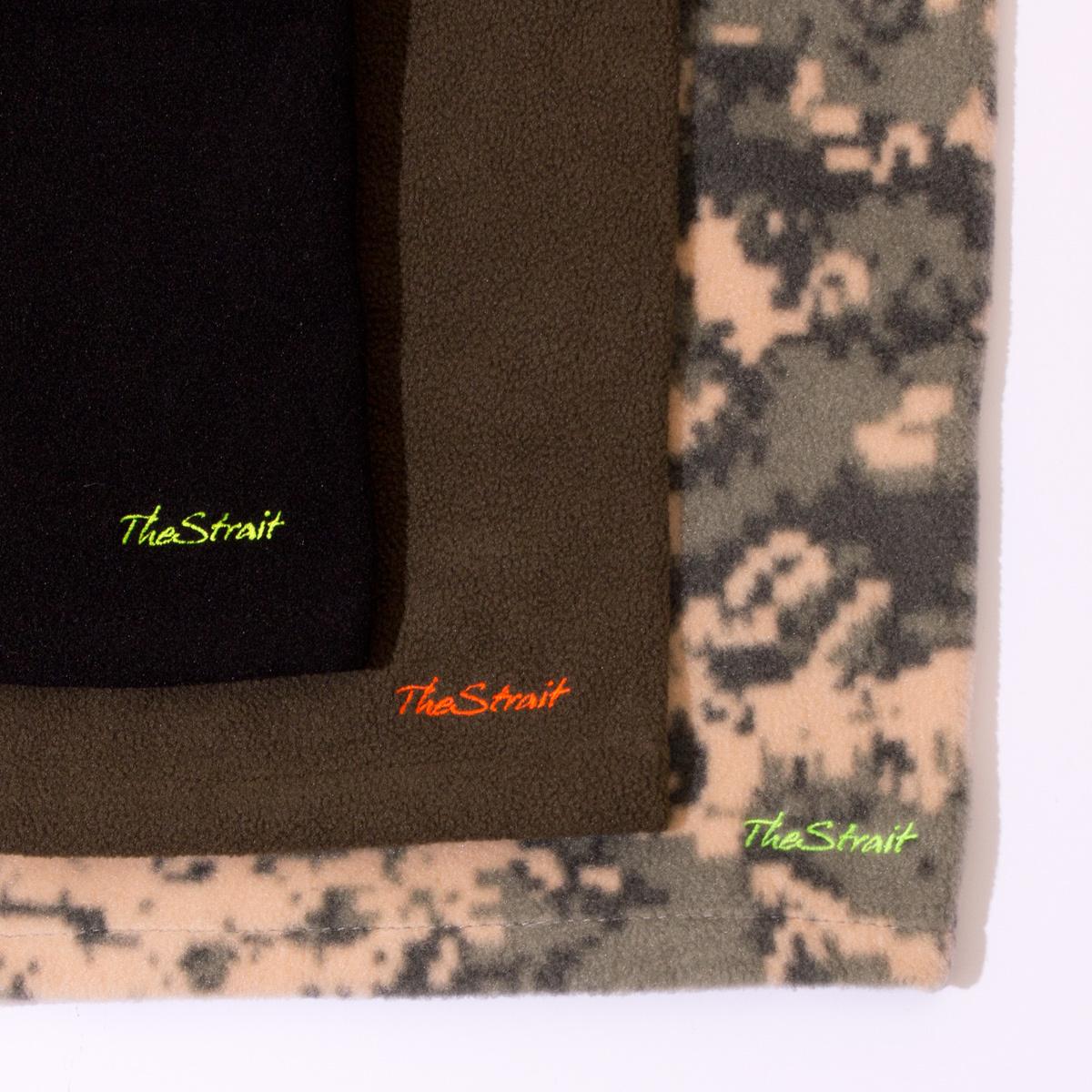 Polar Fleece Adjustable Balaclava #BLACK