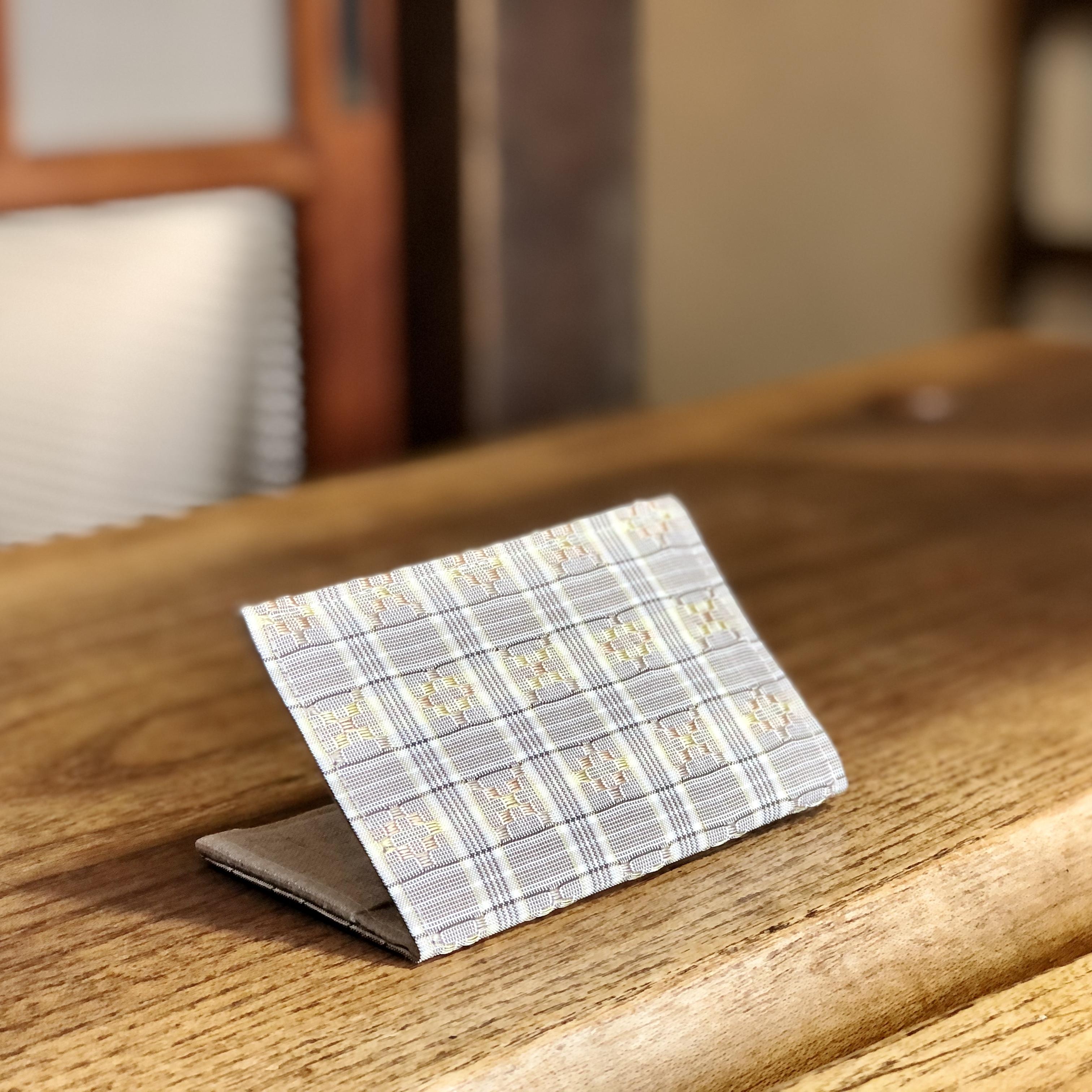 花織カードケース 2