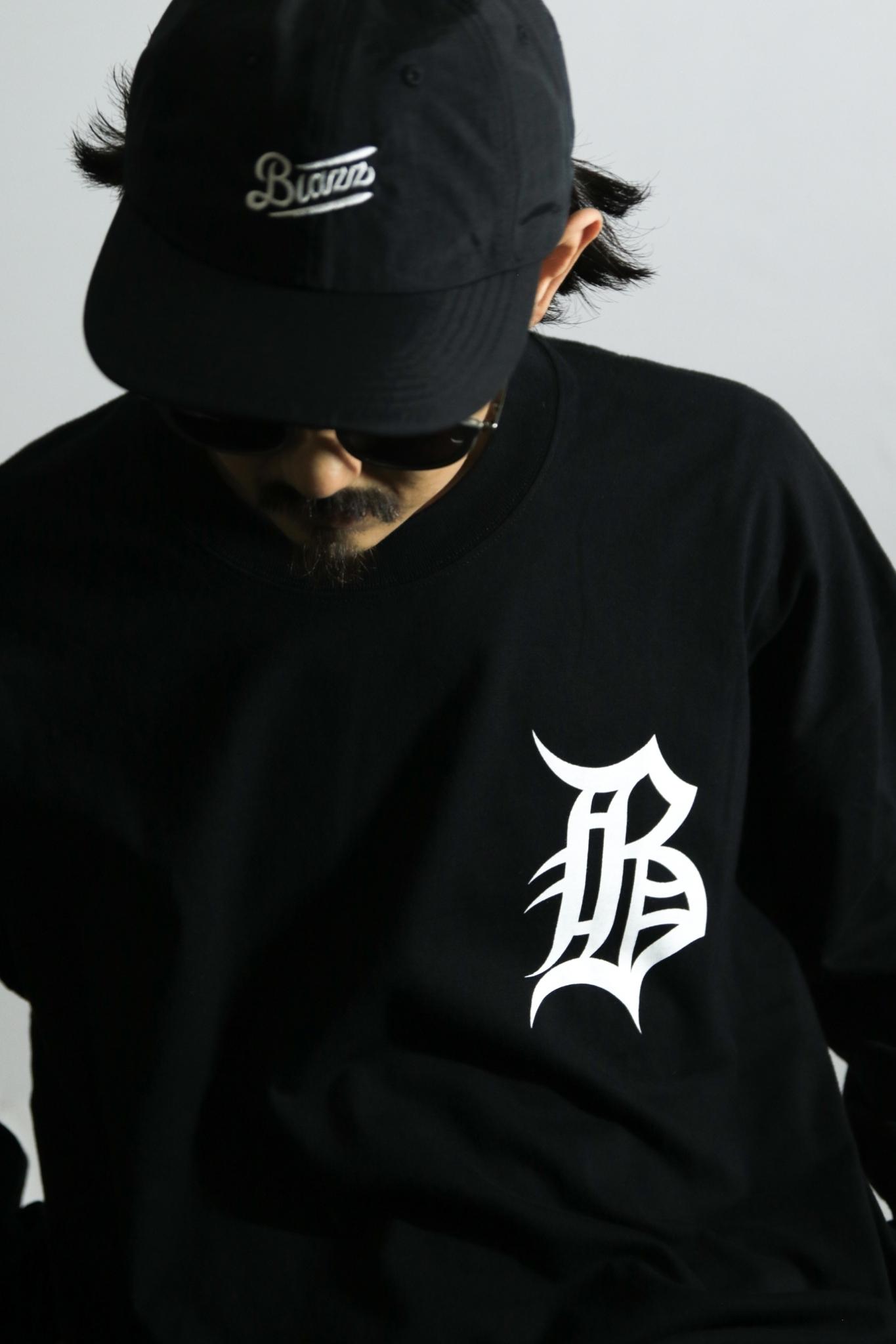 """OL""""D""""-B- B.I.G L/S TEE [BLACK]"""