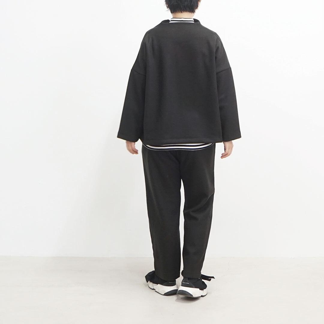 NARU ナル Knit melton jaket ニットメルトンジャケット セットアップ (品番639901)