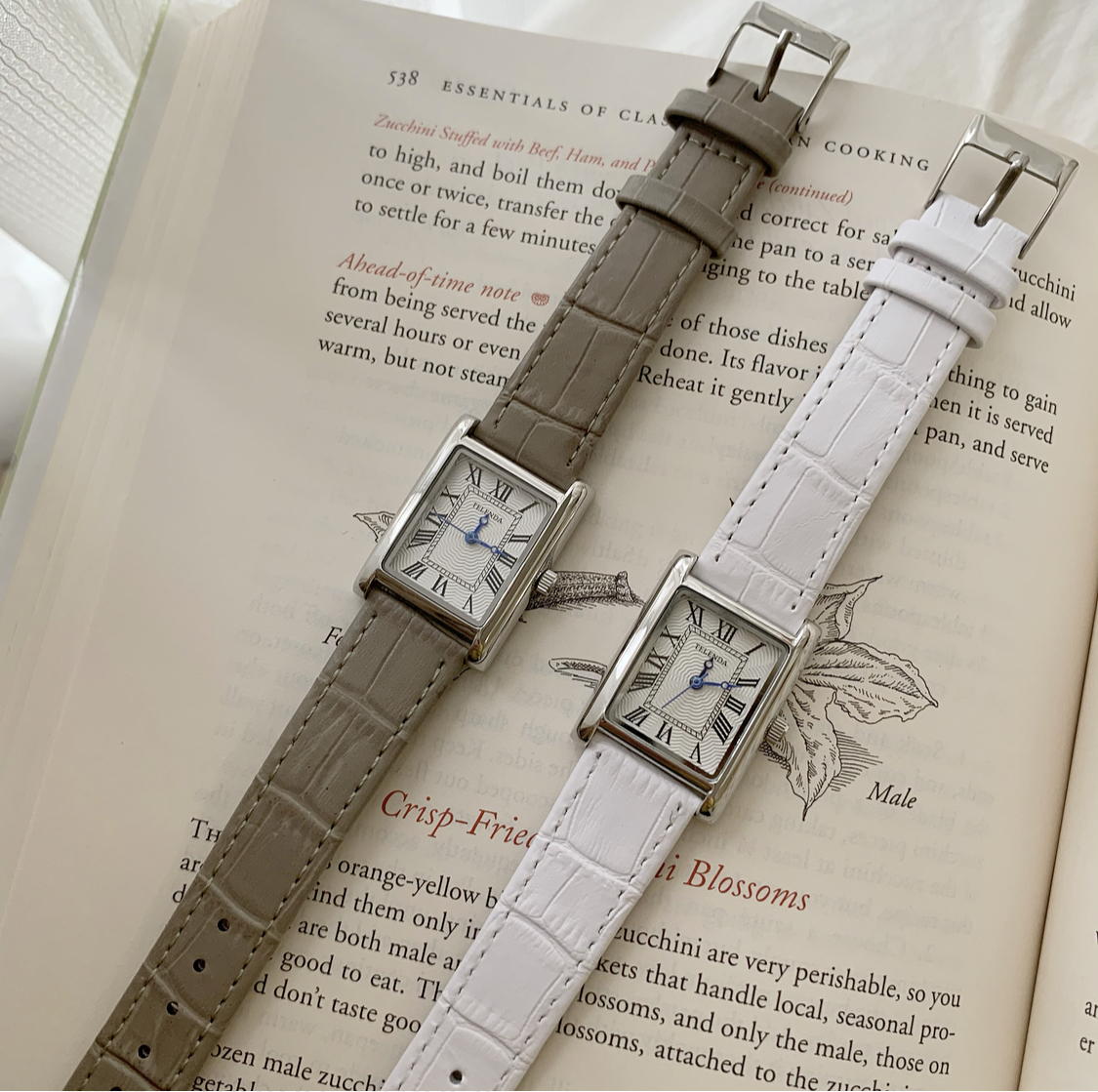 DAYNYC telenda watch(white/gray)