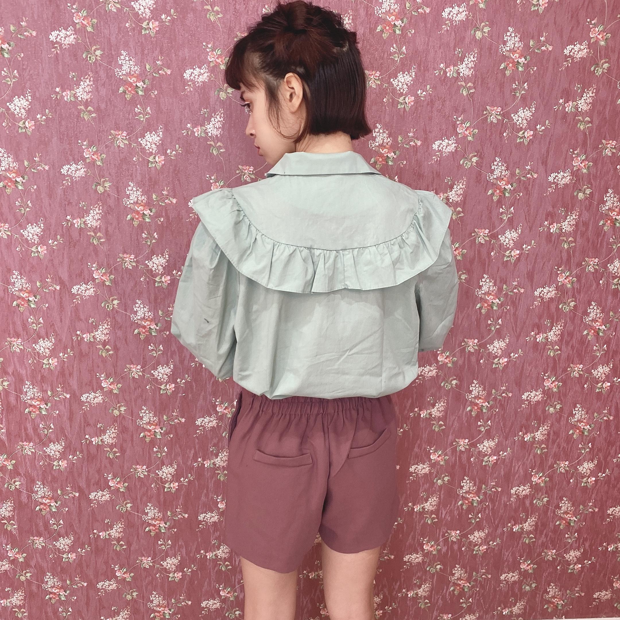 sherbet color short pants