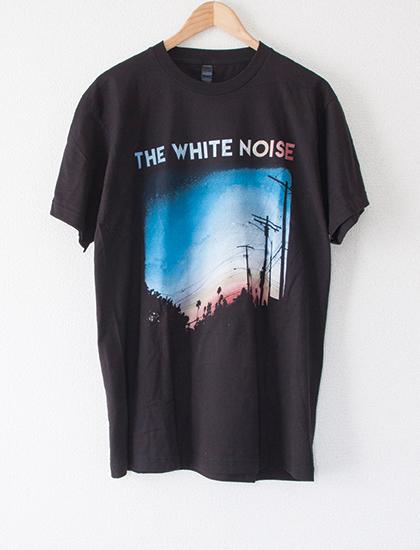 【THE WHITE NOISE】AMPM T-Shirts (Black)